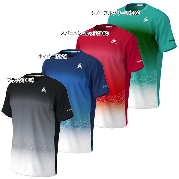 ルコック メンズ テニス ウェア ゲームシャツ (QTMPJA03)