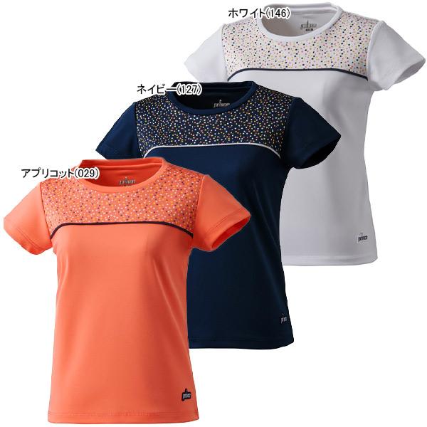 プリンス ジュニア ガールズ テニス ウェア ゲームシャツ (JS0003)