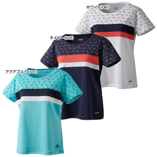 プリンス レディース テニス ウェア ゲームシャツ (WS0004)