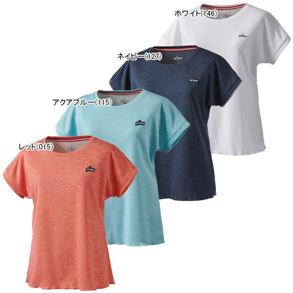 プリンス レディース テニス ウェア ゲームシャツ (WS0008)