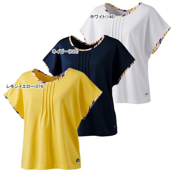 プリンス レディース テニス ウェア ゲームシャツ (WS0024)