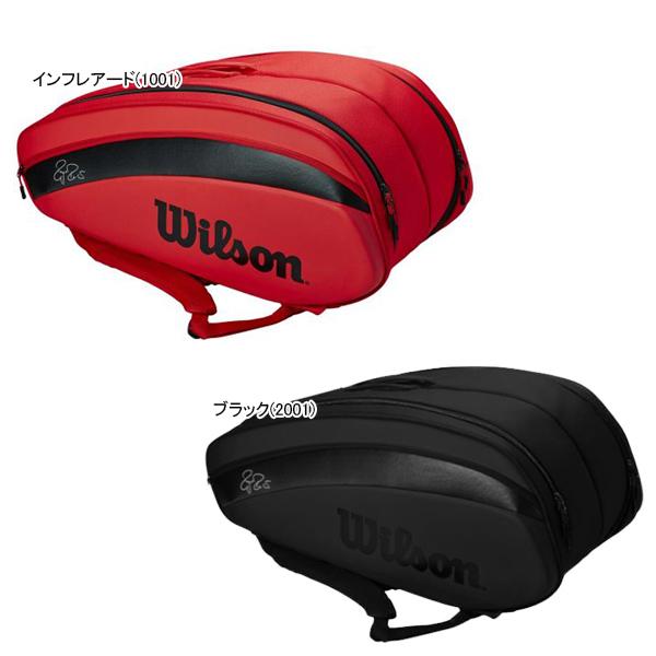 ウィルソン テニス ラケットバッグ RF DNA 12PK (ラケット12本収納可能) (WR800600)
