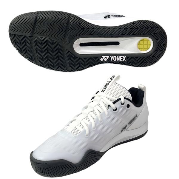 ヨネックス メンズ テニス シューズ パワークッション エクリプション3 AC (オールコート用) ホワイト (SHTE3MAY・011)