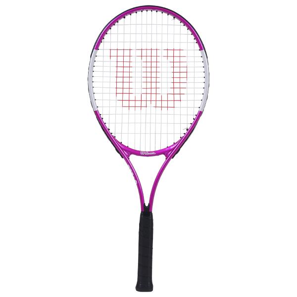 ウィルソン ジュニア テニス ラケット ウルトラ ピンク 25 (ガット張上げ済) (WR027810H)