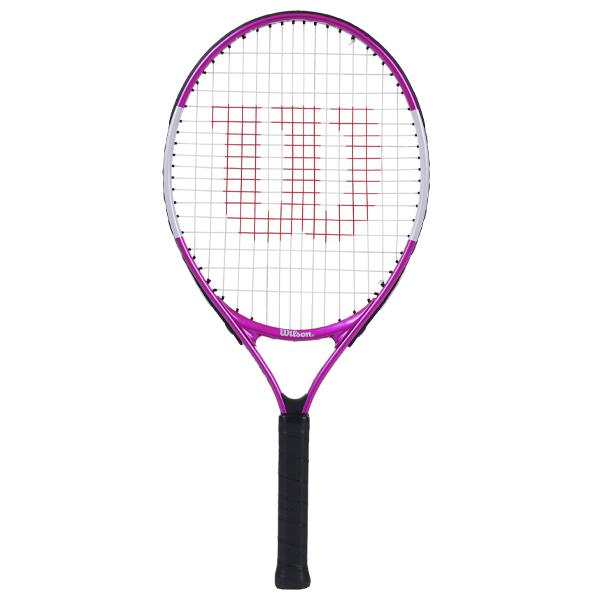 ウィルソン ジュニア テニス ラケット ウルトラ ピンク 23 (ガット張上げ済) (WR027910H)