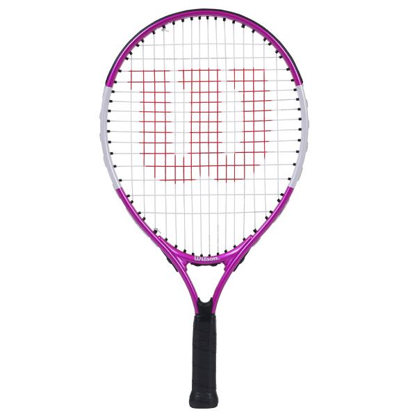 ウィルソン ジュニア テニス ラケット ウルトラ ピンク 21 (ガット張上げ済) (WR028010H)