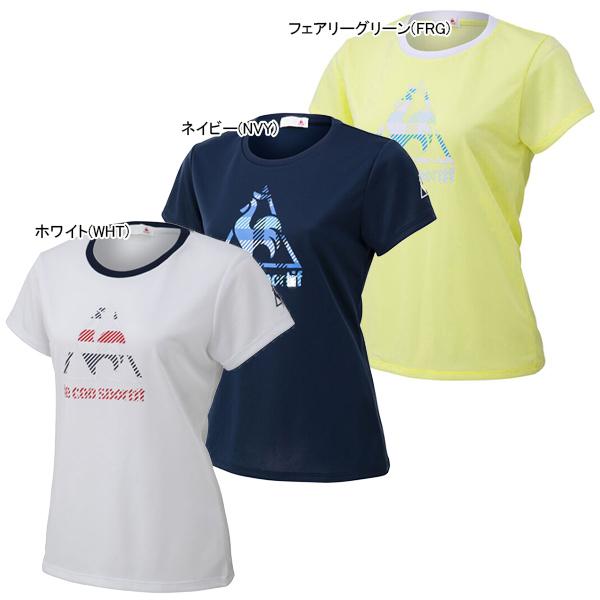 ルコック レディース テニス ウェア 半袖シャツ (QTWPJA11)