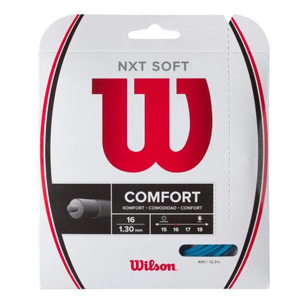 ウィルソン ガット NXT SOFT 16/1.30mm ブルー (WR830510216)