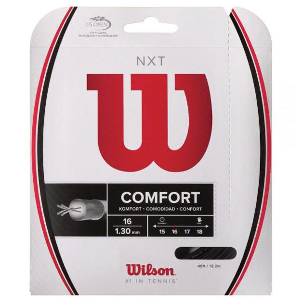 ウィルソン ガット NXT 16/1.30mm ブラック (WRZ942800)
