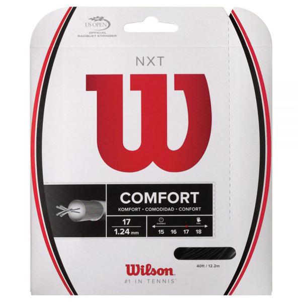 ウィルソン ガット NXT 17/1.24mm ブラック (WRZ943000)