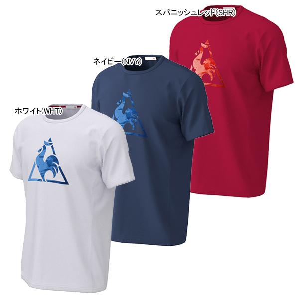 ルコック メンズ テニス ウェア 半袖シャツ (QTMPJA13)