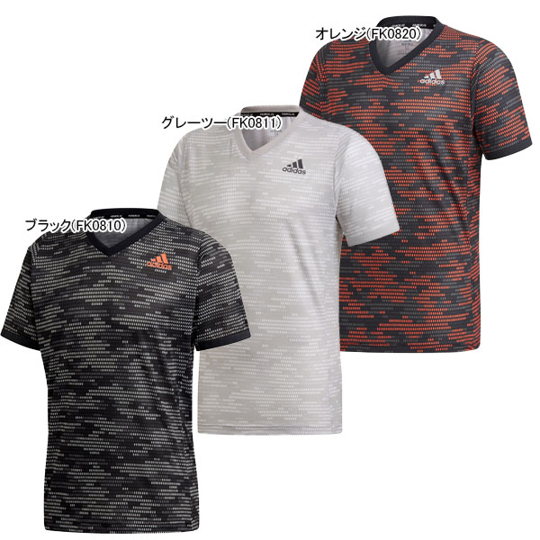 アディダス メンズ テニス ウェア フリーリフト PRIMEBLUE 半袖 Tシャツ (GKD55)