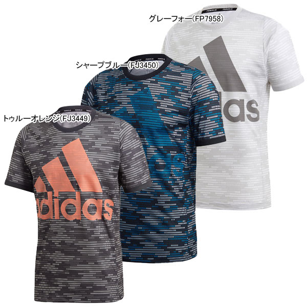 アディダス メンズ テニス ウェア PRIME BLUE ロゴ Tシャツ (GNY20)
