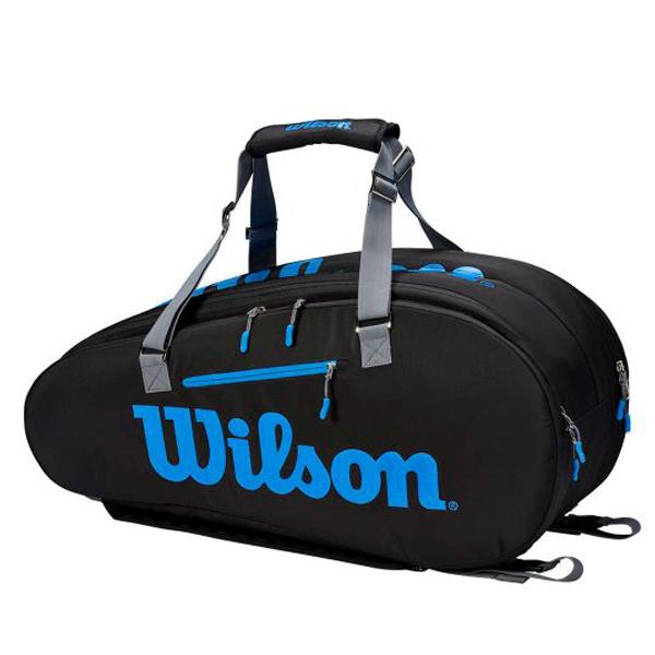 ウィルソン テニス ラケットバッグ ULTRA TOUR 9PK (ラケット9本収納可能) (WR8009401001)