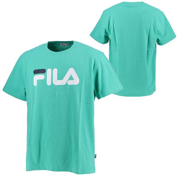 フィラ ユニセックス ウェア プリント Tシャツ BTS ジン(JIN) 着用モデル (FM9357)