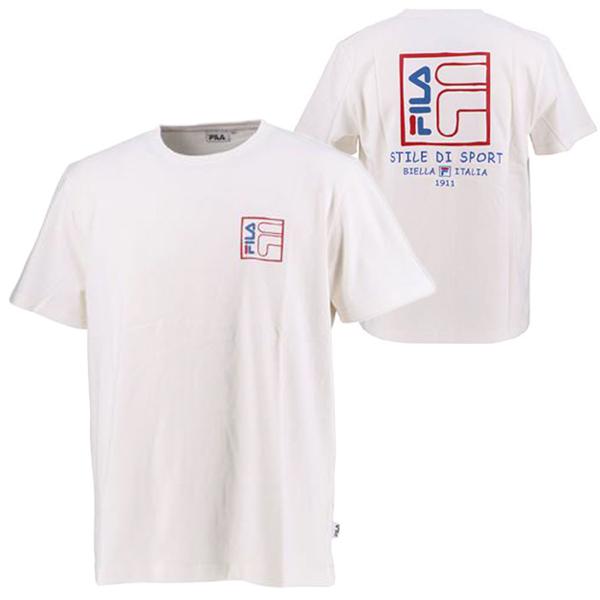 フィラ ユニセックス ウェア プリント Tシャツ BTS シュガ(SUGA) 着用モデル (FM9357)