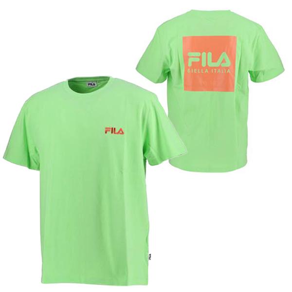 フィラ ユニセックス ウェア プリント Tシャツ BTS ブイ(V) 着用モデル (FM9357)