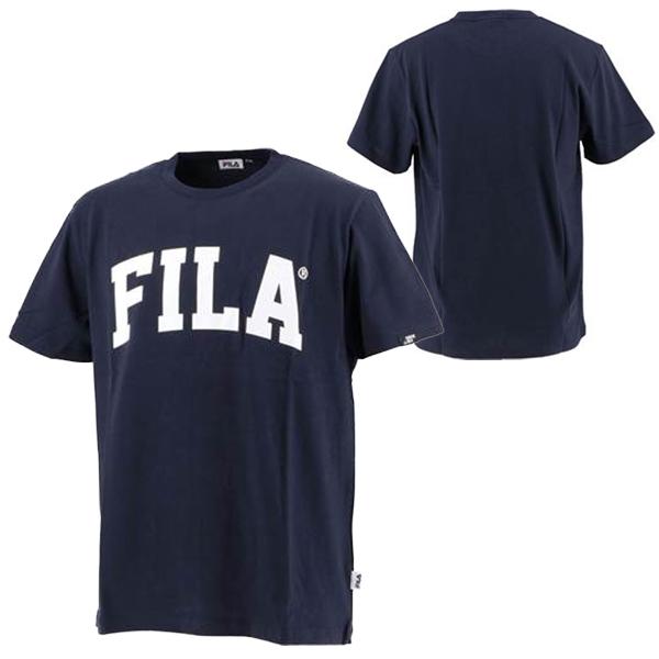 フィラ ユニセックス ウェア プリント Tシャツ BTS アールエム(RM) 着用モデル (FM9357)