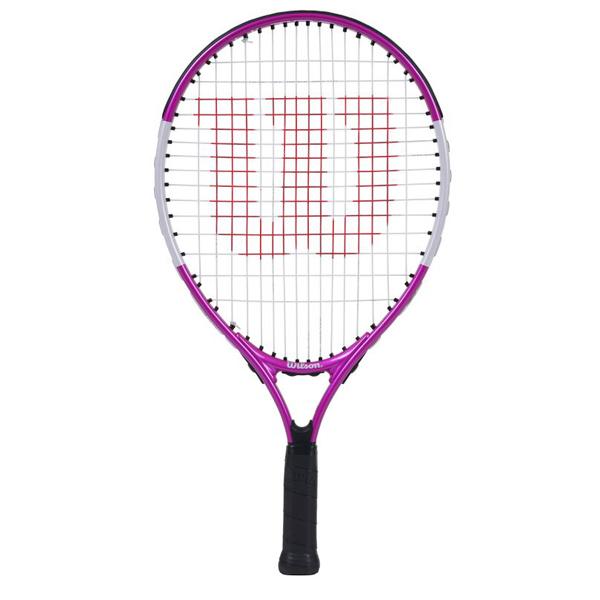 ウィルソン ジュニア テニス ラケット ULTRA PINK 19 (ガット張上げ済) (WR028110H)