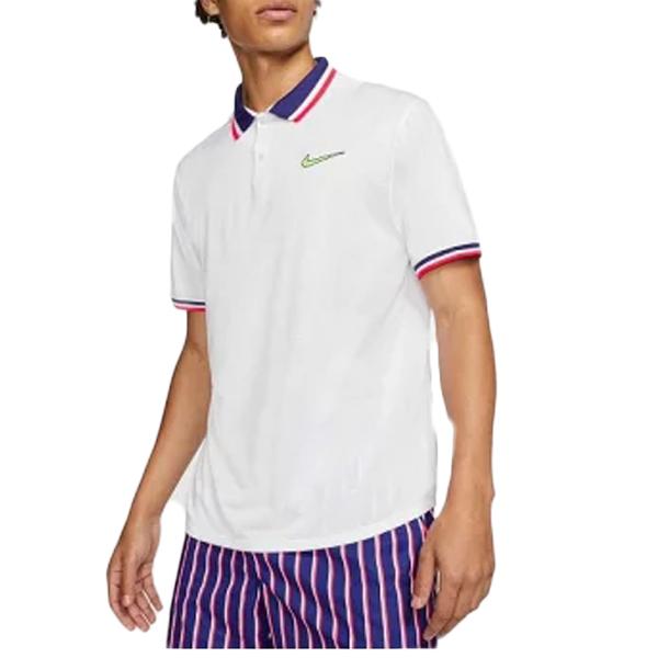 ナイキ メンズ テニス ウェア コート スラム ポロ シャツ (CI9159・100)