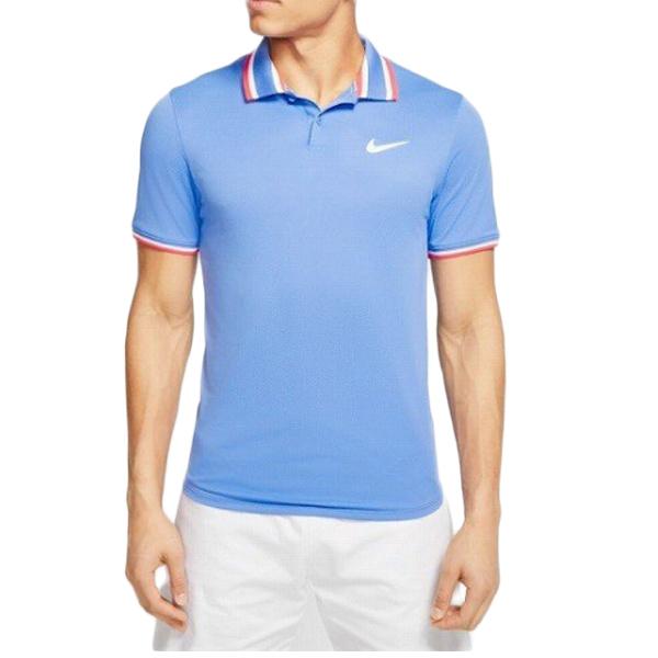 ナイキ メンズ テニス ウェア コート スラム ポロ シャツ (CI9159・478)