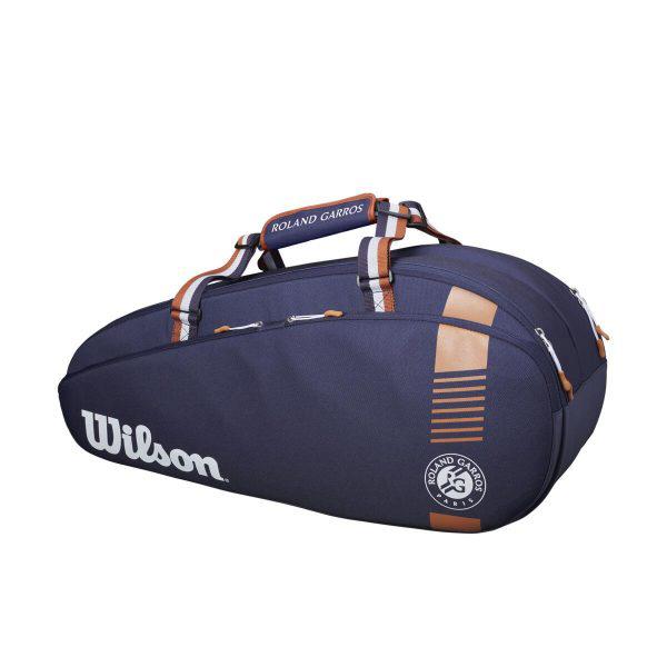 ウィルソン ローランギャロス ラケットバッグ TEAM 6 PACK (ラケット6本収納可能) (WR800670)