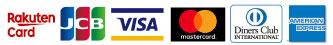 楽天カード/VISA/MASTER/JCB/AMEX/Diners