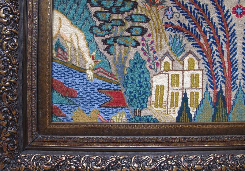 ペルシャ絨毯カシュマール、拡大写真3