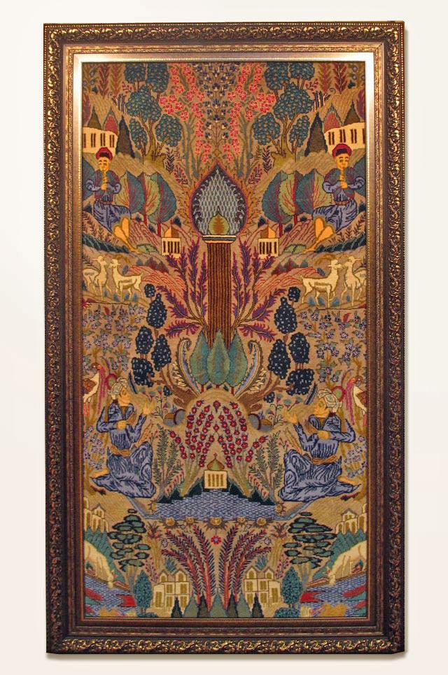 ペルシャ絨毯カシュマール、拡大写真5