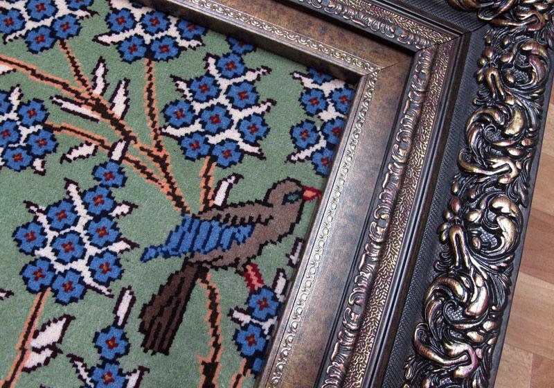 ペルシャ絨毯・カシュマール、拡大写真3