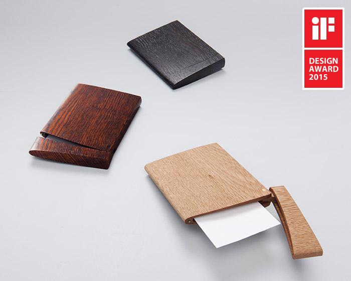 INRO(いんろう)(ナチュラル)木製カードケース