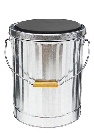クッション付きスツール缶