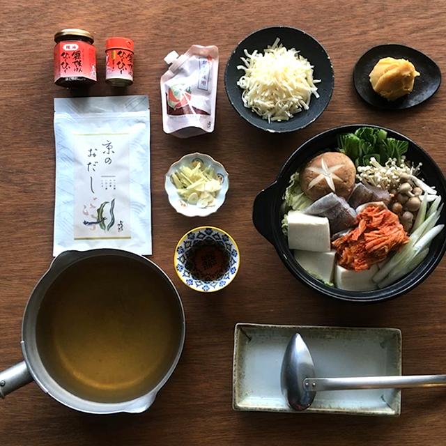鱈と豆腐とチーズの激辛キムチ鍋
