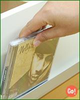AVキャビネット(CD・DVDキャビネット)縦型
