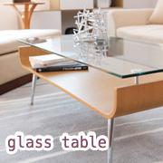 ガラステーブル NET-301BR/NA