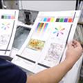 コピー機の印字状態の確認