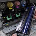 コピー機のドラムの状態確認