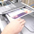 コピー機の読み取り装置の確認