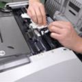 コピー機の給紙ローラーのクリーニング