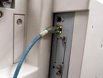 印刷機をパソコンに接続・動作確認