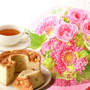 敬老の日  花束シフォン【ピンク】