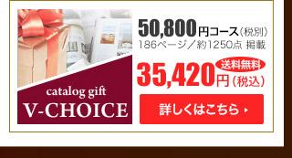 Vチョイス50800円コース