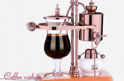 コーヒーメーカー サイフォン ベルギー ローズゴールド