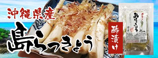沖縄県産島らっきょう(酢漬け)