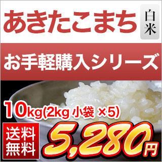 秋田県産 あきたこまち10kg