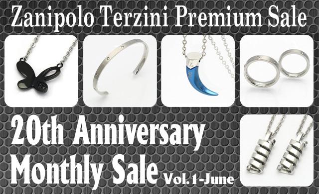 20th Anniversary Zanipolo Terzini Premium Sale