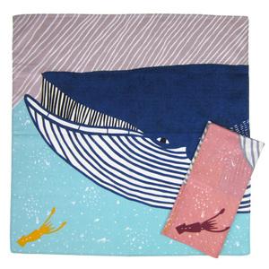 KATAKATA 風呂敷 むすび ナガスクジラ