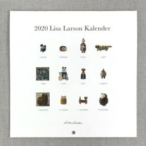 Lisa Larson リサ・ラーソン 2020 セラミックワークス 壁掛けカレンダー