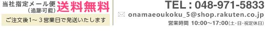 当社指定メール便送料無料