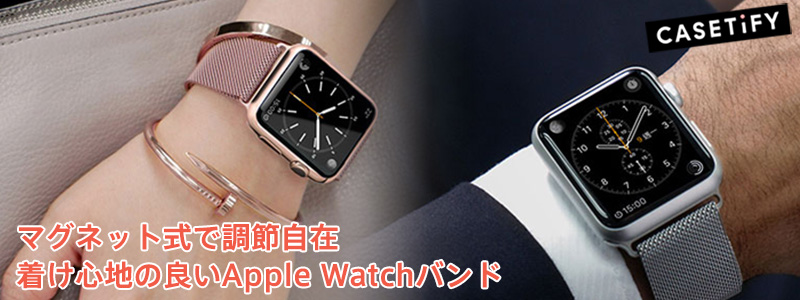 Casetify Apple Watch Stainless Steel Mesh Band